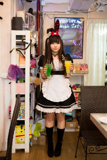 HONG KONG. Moe Maid Cafe. 2013.